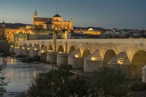 Anochecer en Córdoba