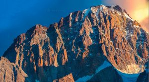 Amanecer en el Mont Blanc